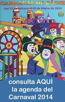 Pincha AQUÍ para consultar la AGENDA del Carnaval 2014'