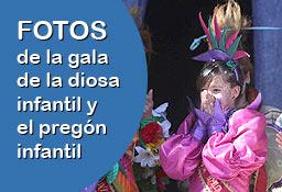 Pincha AQUÍ para ver las FOTOS de la proclamación de la diosa infantil'
