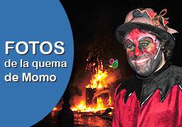 Pincha AQUÍ para ver las FOTOS de la quema de Momo